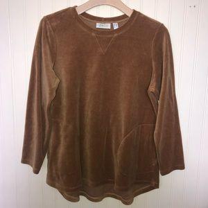 Vintage Velour Sweatshirt